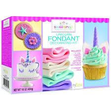 Sweetshop Everyday Unicorn Fondant Kit Walmartcom