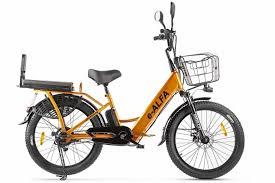 <b>Велогибрид GREEN CITY e-ALFA</b> Fat | OKBIKE!