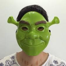 Masquerade Mask Decorating Ideas Cute Halloween Decorations E A Green Plastic Facemask Mask Cartoon 38