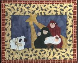 FREE NATIVITY APPLIQUE PATTERNS | APPLIQ PATTERNS | sewing ... & Love this quilted nativity Free Adamdwight.com