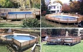 semi inground pool ideas. Semi Inground Pool Ideas S