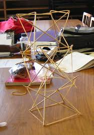 tensegrity furniture. ropes and poles stepbystep tensegrity tower part 3 furniture l