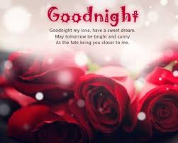 good night es my love have a sweet