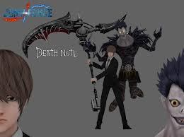 Light Yagami 3d Model Jump Force Death Note By Maxdemon6 On Deviantart