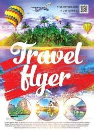 Travel Flyer Psd Template