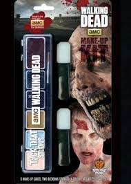 officialy licensed walking dead makeup kit