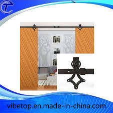 china wooden glass sliding barn door hardware stainless steel china steel barn door hardware glass barn door hardware