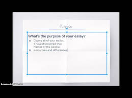 how to start a compare and contrast essay steps