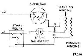 single in hermetic compressor wiring diagram gooddy org single phase refrigeration compressor wiring diagram at Compressor Wiring Diagram