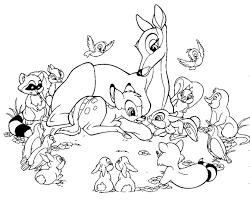 Small Picture Baby bambi coloring pages and friends ColoringStar