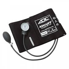 sphygmomanometer. adc manual blood pressure thigh 760 prosphyg aneroid sphygmomanometer