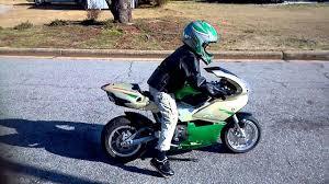 8 year old on mini motorcycle youtube