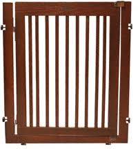 citadel pressure mount pet gate wooden pet gate m58
