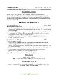 Trending Career Objective For Operations Profile Entry Level Resume