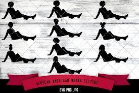 Hookah vectors set free vector. African American Woman Sitting Svg Cut File 938454 Cut Files Design Bundles