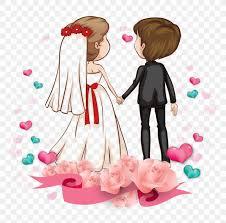 love romance couple cartoon marriage