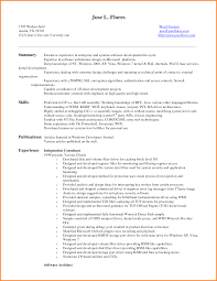 Chic Sample Resume Format Entry Level On Sample Resume For
