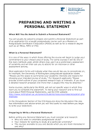 what is a personal statement essay personal statement for masters in biomedical science