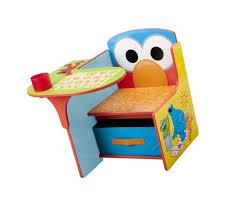 delta children chair desk with storage bin sesame street