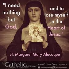 Image result for st. margaret mary alacoque