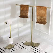 Modern Polished Brass Freestanding Bathroom Accessories Ebay