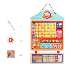 Buy Takefuns Reward Chart Wooden Magnetic Responsibility