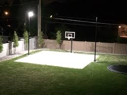 5776 home backyard basketball court lighting step guide