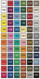 Pastel Color Code Chart Individual Cretacolor Fine Art Pastel Pencils