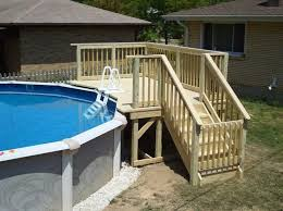 above ground pool decks. Best 25 Above Ground Pool Decks Ideas On Pinterest Pools With Decking O