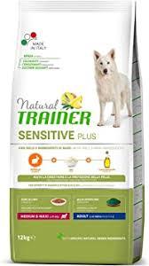 <b>Natural Trainer Sensitive Plus</b> - Medium & Maxi Adult Dog Food with ...