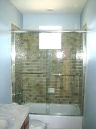 bypass shower door. Bypass Shower Doors By Pass Enclosure Kohler Revel Sliding Door Leak