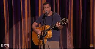 adam sandler s newest song couched in humor