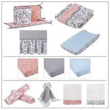 balboa baby grey dahlia bedding collection