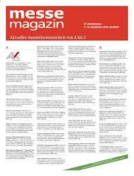 20150905ausstellerverzeichnis Herbstmesse 2015 By