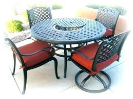 round metal patio table round outdoor patio table beautiful circular outdoor sectional large round metal patio