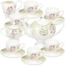 <b>Сервиз чайный</b> из фарфора, 15 предметов, <b>Мелисента</b> 432127 ...