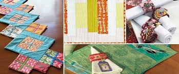 4 Free Patterns for Quilted Table Runners, Napkins & More - The ... & Get patterns for each of these designs, including quilted placemat,  napkins, and table Adamdwight.com