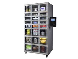 Apex Vending Machines Amazing Apex Axcess™ 48 Automated Locker System Contact APEX SUPPLY