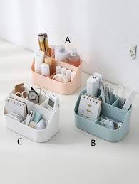<b>1pc</b> Desktop Multi-compartment <b>Storage Box</b>   ROMWE