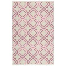 brisa pink 5 ft x 8 ft indoor outdoor reversible area rug