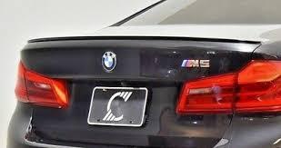 BMW OEM <b>G30</b> 5 Series 2017+ <b>M5</b> Matt Black <b>Rear Spoiler</b> Lip ...