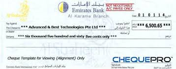 Check Writing Templates The Database Of These Cheque Templates Grows On Regular