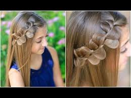 Pretty Girls Hairstyle rick rack braid cute girls hairstyles youtube 6806 by stevesalt.us