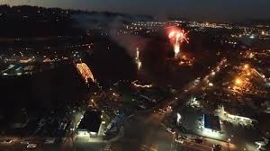 Sumner Wa Bridge Lighting Sumner Wa Bridge Lighting 2015 Drone Footage