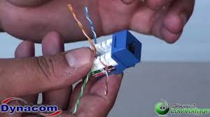 b amp a cat 6 keystone jack wiring diagram how to punch down a cat5e cat6 kwik jack how to punch down a cat5e cat6