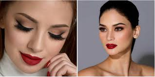10 mesmerizing eye makeup looks to go with red pout