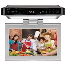 Coby Under Cabinet Radio Amazoncom Ilive Ikb333s Under Cabinet Radio With Bluetooth Kitchen