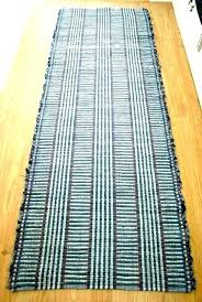 blue rugs cotton rag ikea furniture balikpapan