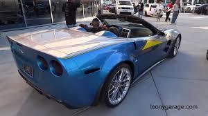 Chevrolet Corvette ZR1 Convertible Blue Angels - YouTube