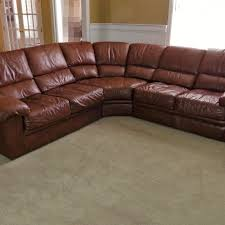 Leather Trend 'Verona' Cowhide Sectional ...